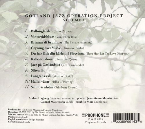 Gotland Jazz Operation Project I