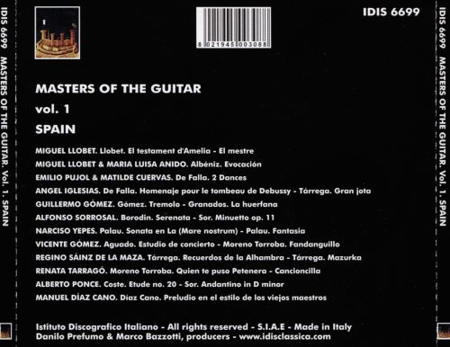 Masters of the Guitar, Vol. 1: Spain