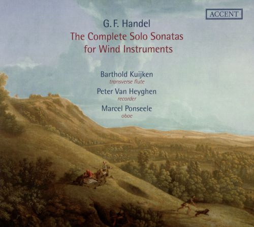 Handel: The Complete Solo Sonatas for Wind Instruments