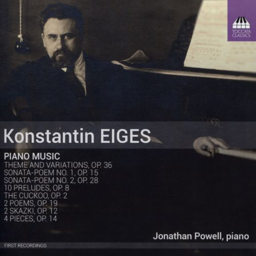 Konstantin Eiges: Piano Music