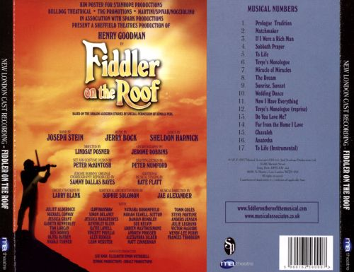 Fiddler on the Roof [2015 New London Cast Recording]
