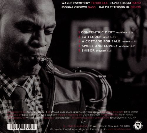 Wayne Escoffery Quartet: Live at Smalls