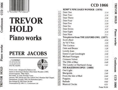 The Jacobs Piano Collection, Vol. 5