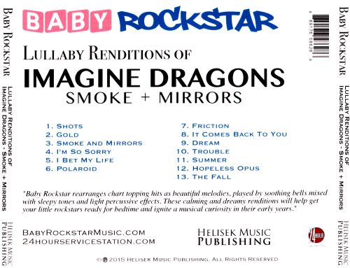 Lullaby Renditions of Imagine Dragons: Smoke + Mirrors