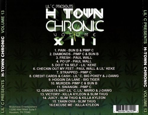 H-Town Chronic, Vol. 13