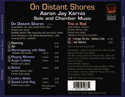 On Distant Shores: Aaron Jay Kernis Solo and Chamber Music