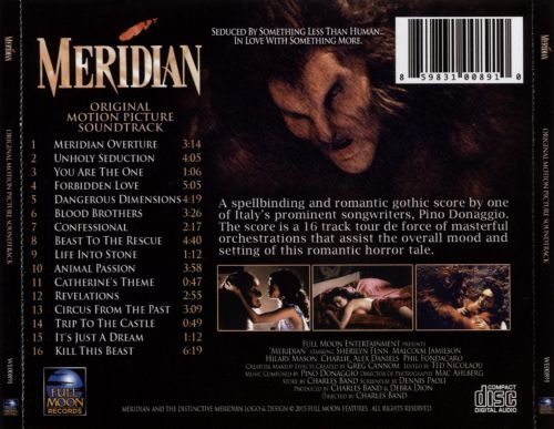 Meridian: Kiss of the Beast [Original Motion Picture Soundtrack]