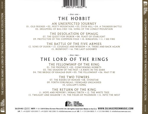 The Complete Hobbit & Lord of The Rings Film Music Collection