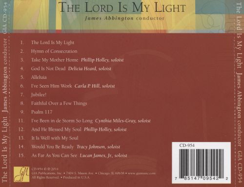 The Lord is My Light: 14 Selection From the African American Church Music Series
