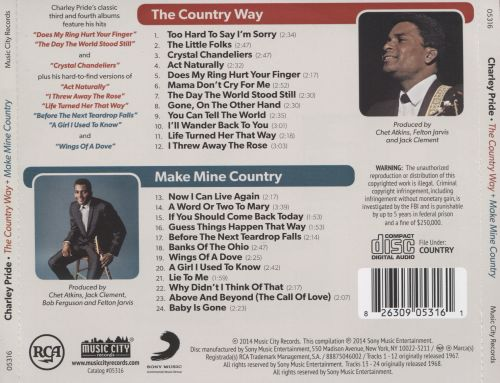 The Country Way/Make Mine Country