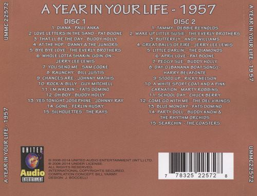 A Year In Your Life: 1957