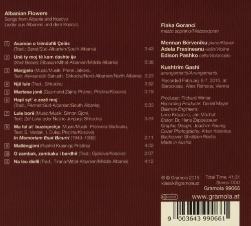Albanian Flowers: Songs from Albania and Kosovo