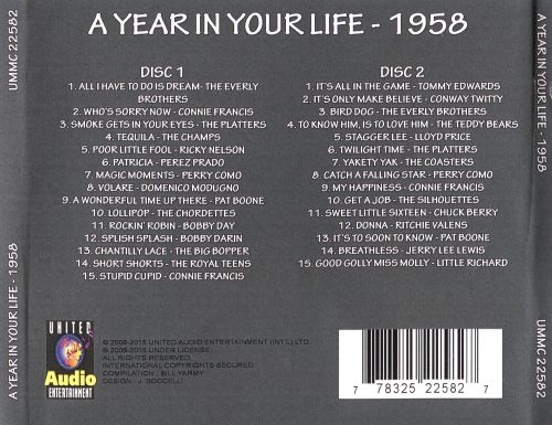 A Year in Your Life: 1958
