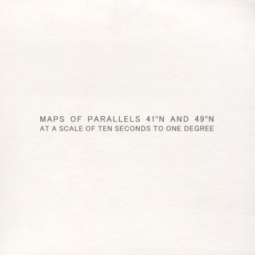 Maps of Parallels 41°N and 49° N at a Scale of Ten Seconds to One Degree