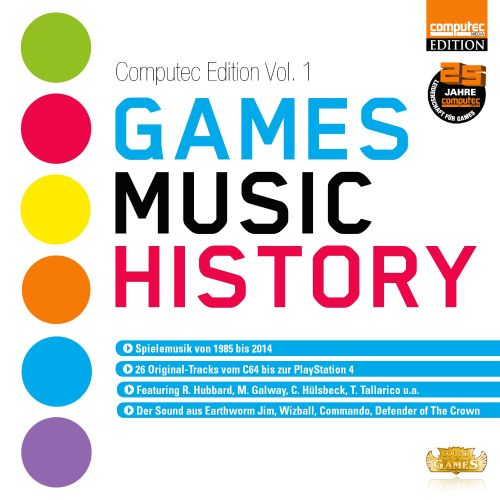 Games Music History: Computec Edition, Vol. 1