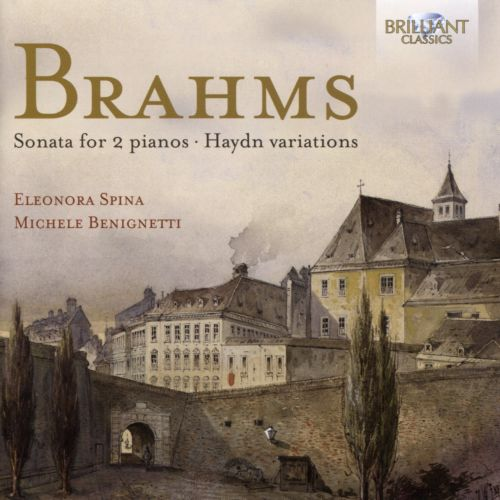 Brahms: Sonata For 2 Pianos; Haydn Variations