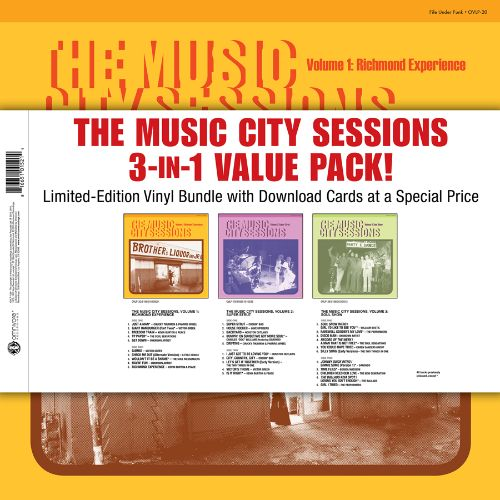 The Music City Sessions 3-In-1