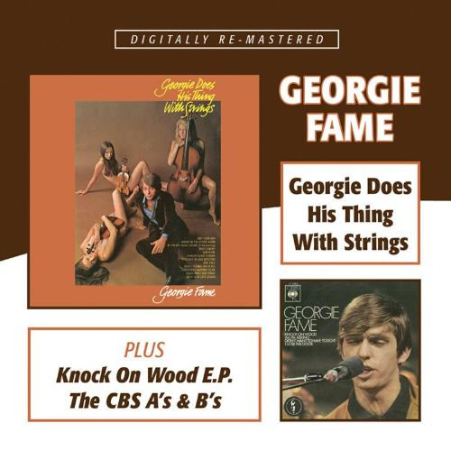 Georgie Does His Thing  With Strings / Knock On Wood E.P. / The CBS A's & B's