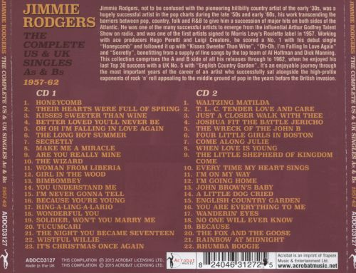 The Complete US & UK Singles As & Bs 1957-1962