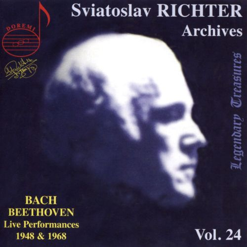 Sviatoslav Richter Archives, Vol. 24: Bach, Beethoven - Live Performances