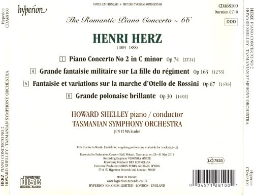 Romantic Piano Concerto, Vol. 66 - Herz: Piano Concerto No. 2