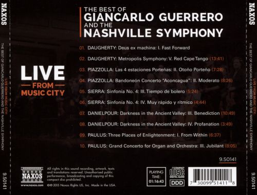The Best of Giancarlo Guerrero and the Nashville Symphony