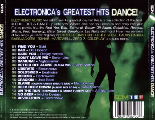 Electronica's Greatest Hits Dance