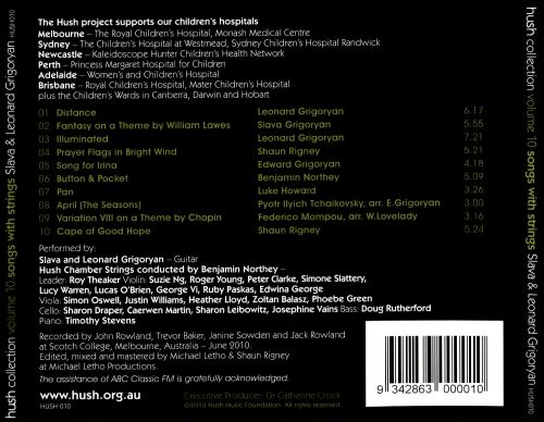 Hush Collection, Vol. 10: Songs with Strings