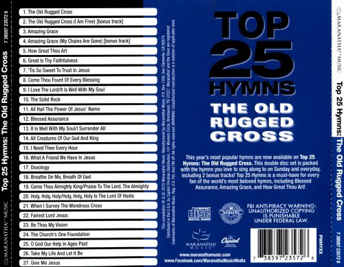 Top 25 Hymns: The Old Rugged Cross