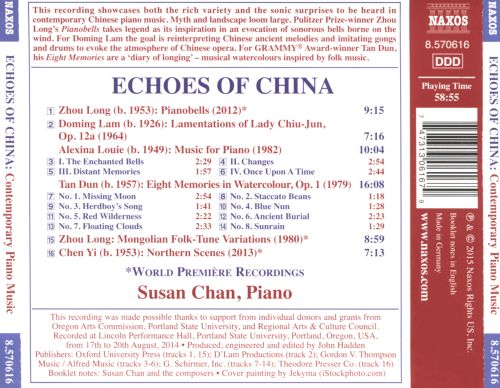 Echoes of China: Contemporary Piano Music