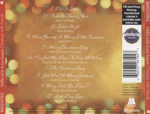 Christmas with Friends - India.Arie, Joe Sample | Songs, Reviews ...