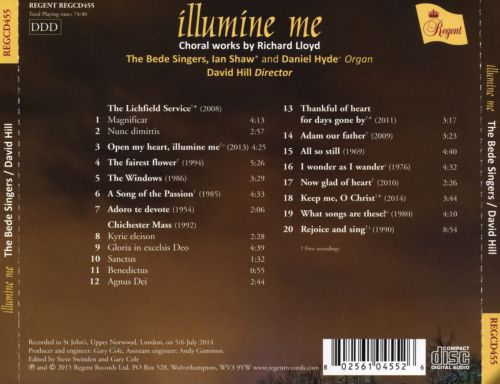 Illumine Me: Choral Works by Richard Lloyd