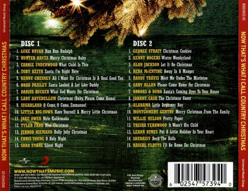now thats what i call a country christmas - Country Christmas Cd