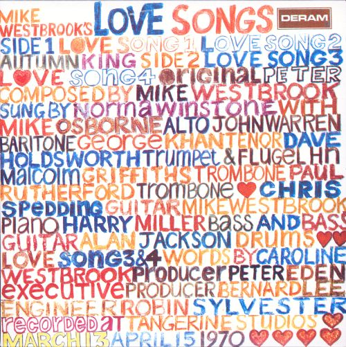 Mike Westbrook's Love Songs - Mike Westbrook Concert Band