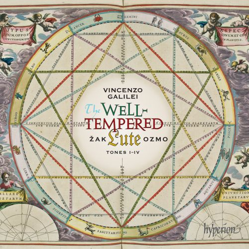 Vincenzo Galilei: Well-Tempered Lute, Tones I-IV