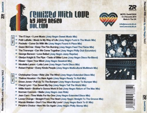 Remixed With Love By Joey Negro, Vol. 2