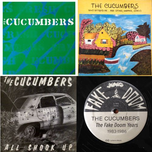 The Fake Doom Years (1983-1986) The Cucumbers/Who Betrays Me... And Other Happier Songs/All Shook Up