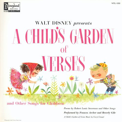 a childs garden of verses walt disney - A Childs Garden Of Verses