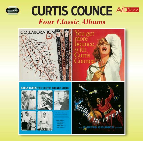 Collaboration West/You Get More Bounce With Curtis Counce!/Exploring the Future/Carl's Blues