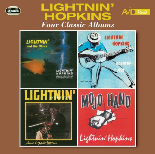 Four Classic Albums: Lightin' and the Blues/Country Blues/Lightin' in New York/Mojo Hand