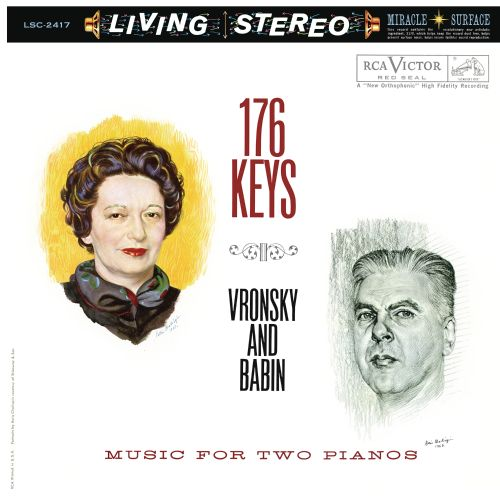 176 Keys: Music For Two Pianos
