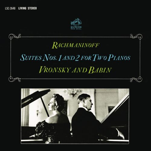 Rachmaninoff: Suites Nos. 1 and 2 for Two Pianos