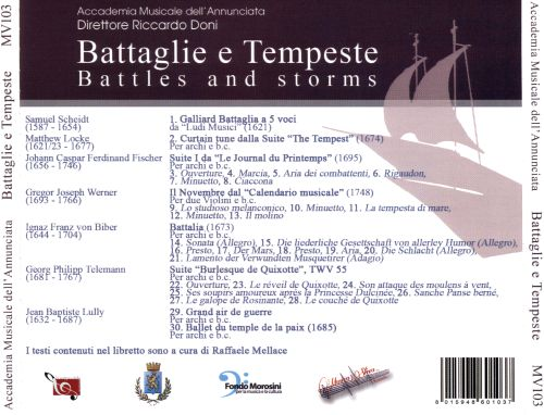 Battaglie e Tempeste (Battles and Storms)