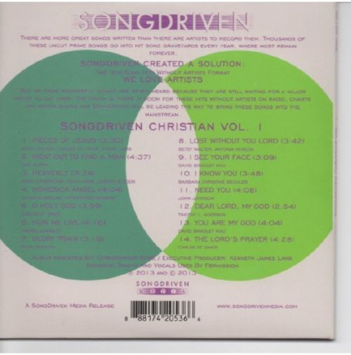 SongDriven Christian, Vol. 1