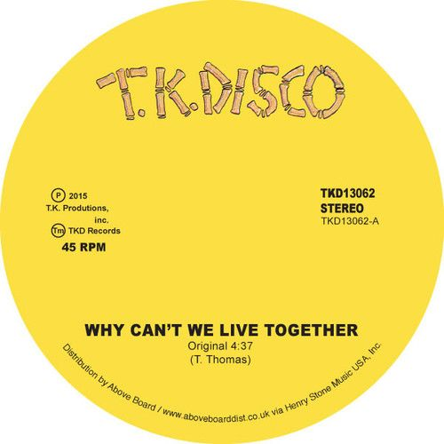 Why Can't We Live Together [Original and LNTG Remix]