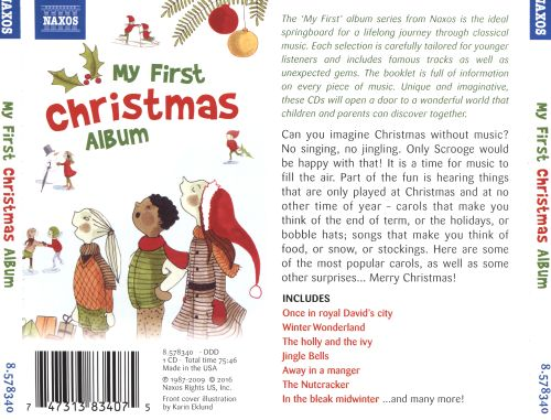 my first christmas album naxos various artists songs reviews