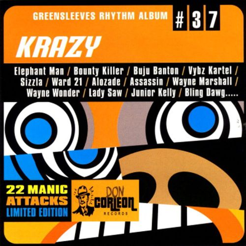 Greensleeves Rhythm Album #37: Krazy