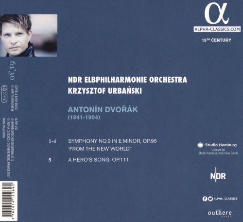 Dvořák: Symphony No. 9 'From the New World'; A Hero's Song Op. 111