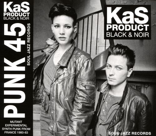 Black & Noir: Mutant Synth-Punk from France 1980-1983