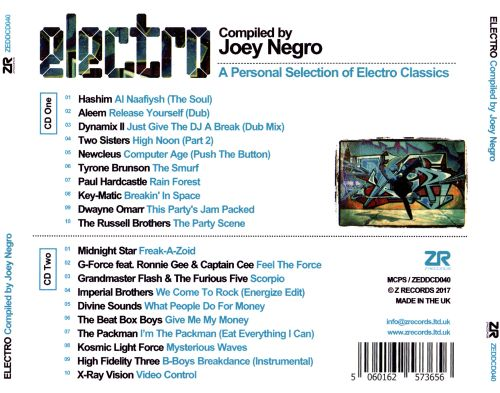 Electro: A Personal Selection of Electro Classics Compiled by Joey Negro